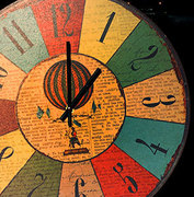 Круглые часы, 36 см