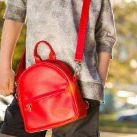 Мини рюкзак-сумка Rainbow